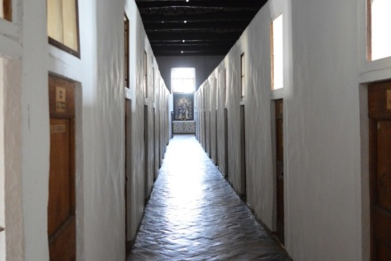 Dormitorium w klasztorze sióstr Klarysek Kapucynek w Citta di Castello