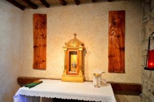 Kaplica w dawnej infirmerii w San Damiano
